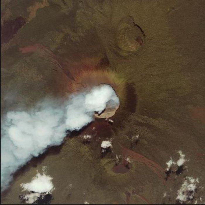 Εκρήξεις ηφαιστείων από το διάστημα - Εκπληκτικές φωτογραφίες της ΝΑΣΑ - εικόνα 14