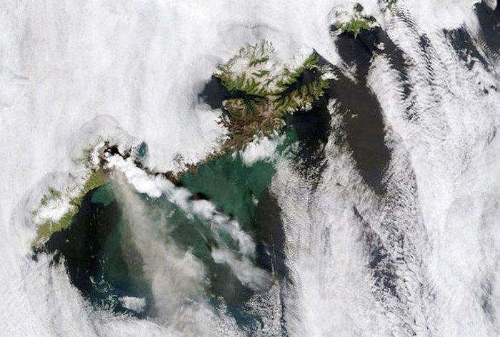 Εκρήξεις ηφαιστείων από το διάστημα - Εκπληκτικές φωτογραφίες της ΝΑΣΑ - εικόνα 15