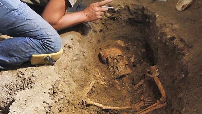Είναι αυτός ο σκελετός και ο τάφος της Μόνα Λίζα του Ντα Βίντσι; - εικόνα 2