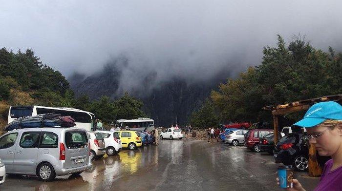 55 τουρίστες στο έλεος της κακοκαιρίας - Εγκλωβισμένοι στο Φαράγγι Σαμαριάς - εικόνα 3
