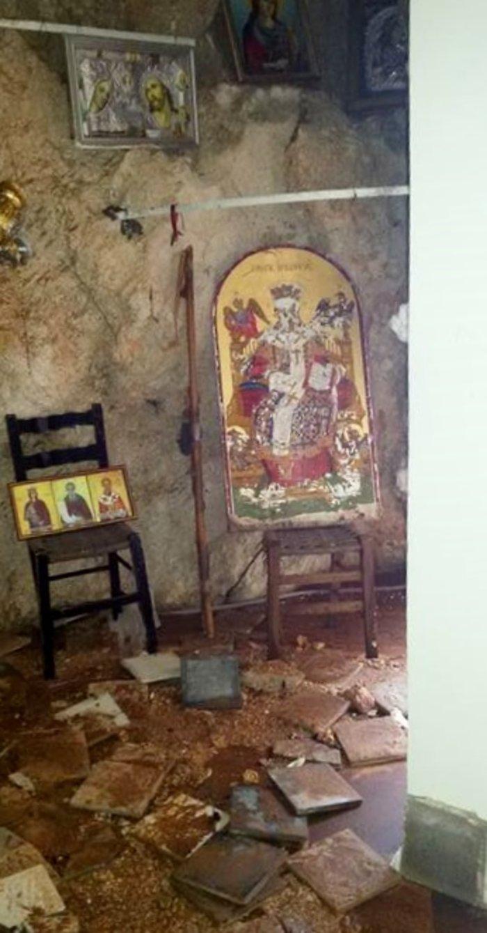 Κεφαλονιά: Χάθηκε η θαυματουργή εικόνα της Αγίας Βαρβάρας