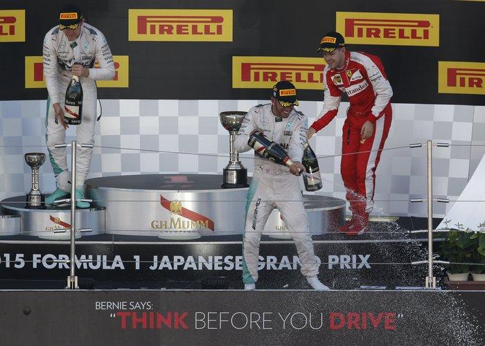 Formula 1: Ο Λούις Χάμιλτον νίκησε στο Ιαπωνικό Γκραν Πρι - εικόνα 2