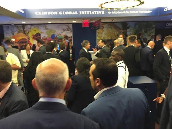 Τα στιγμιότυπα από την εκδήλωση στο Iδρυμα Κλίντον - εικόνα 11