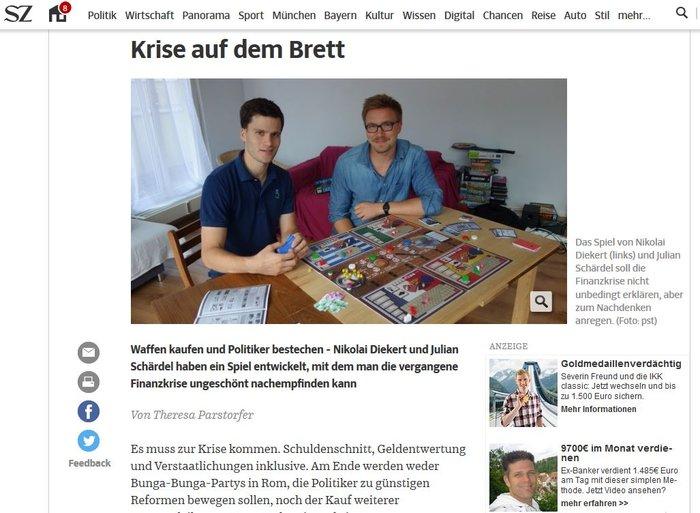 Η ελληνική κρίση έγινε επιτραπέζιο παιχνίδι στη Γερμανία - εικόνα 3