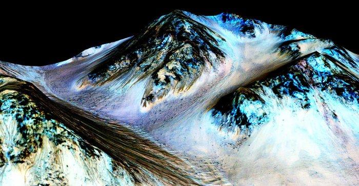 Τα ποτάμια του Αρη και το αλάτι της... εξωγήινης ζωής - εικόνα 3