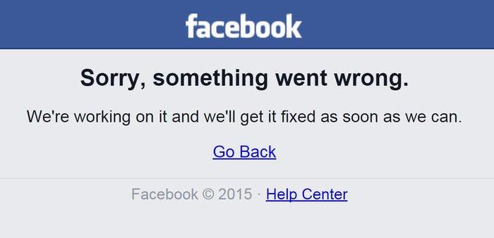 Ξανά εκτός λειτουργίας το Facebook