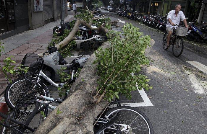 Σούπερ τυφώνας σάρωσε την Ταϊβάν - εικόνα 2