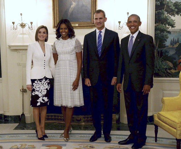 Πώς η αντισυμβατικά όμορφη Μισέλ Ομπάμα «σβήνει» τις άλλες Πρώτες Κυρίες; - εικόνα 6