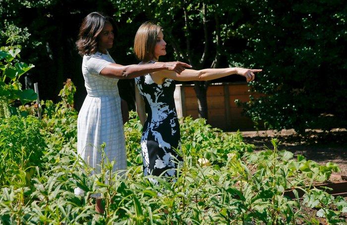 Πώς η αντισυμβατικά όμορφη Μισέλ Ομπάμα «σβήνει» τις άλλες Πρώτες Κυρίες; - εικόνα 7