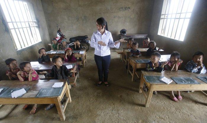 Μαθητές δημοτικού σχολείου στο Βιετνάμ