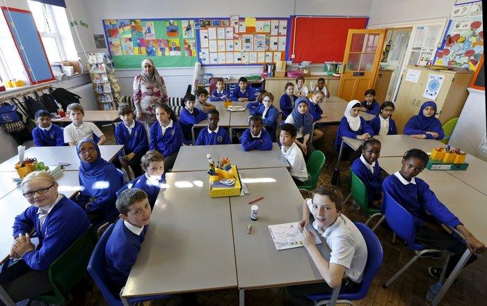 Δημοτικό σχολείο στο Λονδίνο.