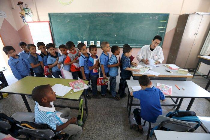 Σχολείο στη Λωρίδα της Γάζας