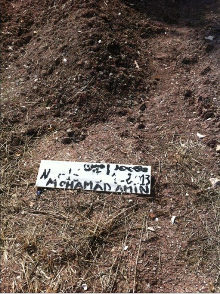 Εικόνες-γροθιά στο νεκροταφείο προσφύγων στη Μυτιλήνη - εικόνα 4
