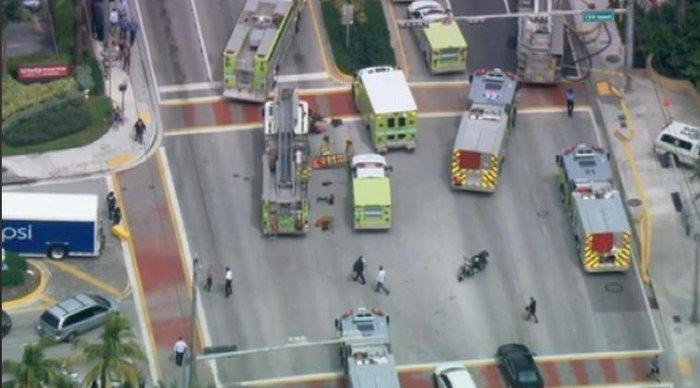Δεκάδες τραυματίες από έκρηξη σε ουρανοξύστη στο Μαϊάμι - εικόνα 3