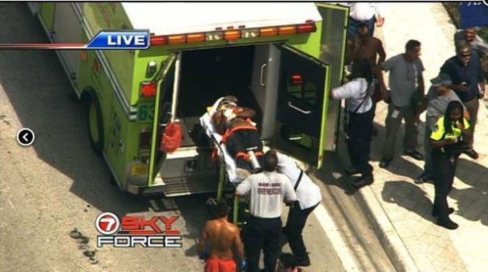 Δεκάδες τραυματίες από έκρηξη σε ουρανοξύστη στο Μαϊάμι - εικόνα 2