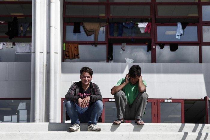 Συγκλονιστικές εικόνες των προσφύγων σε Γαλάτσι και Ελληνικό - εικόνα 5