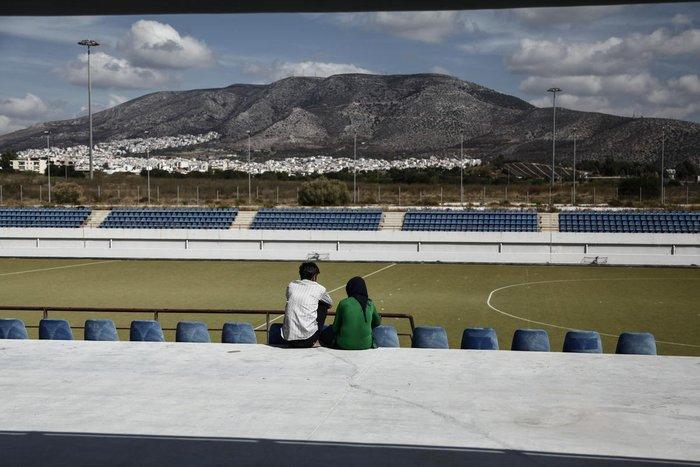 Συγκλονιστικές εικόνες των προσφύγων σε Γαλάτσι και Ελληνικό - εικόνα 7