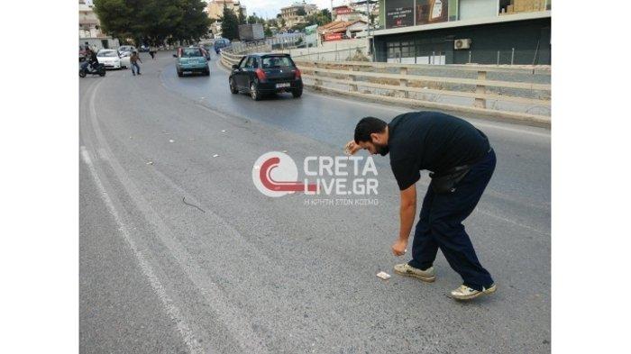 Γέμισε ο δρόμος ... 50ευρα στο Ηράκλειο Κρήτης - εικόνα 2