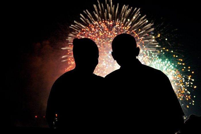Μπάρακ και Μισέλ: 23 χρόνια γάμου σε 23 φωτογραφίες - εικόνα 5