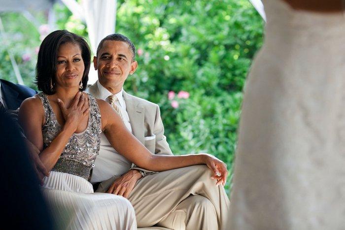 Μπάρακ και Μισέλ: 23 χρόνια γάμου σε 23 φωτογραφίες - εικόνα 12