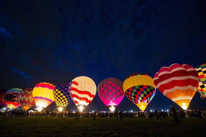 Γιορτή από πρωτότυπα αερόστατα στις ΗΠΑ. Απλά υπέροχη! - εικόνα 3