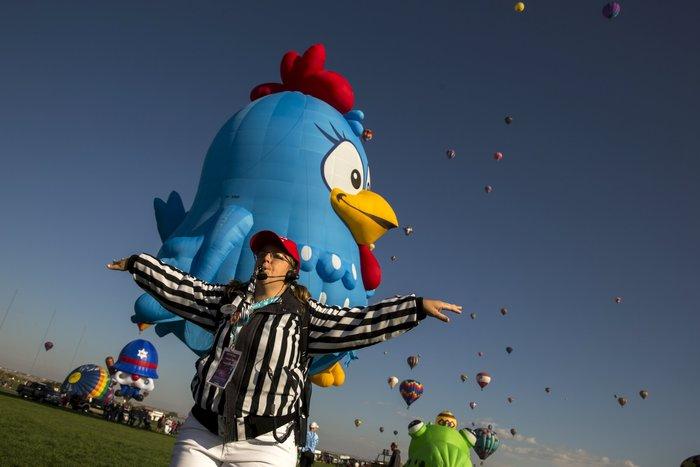 Γιορτή από πρωτότυπα αερόστατα στις ΗΠΑ. Απλά υπέροχη! - εικόνα 4