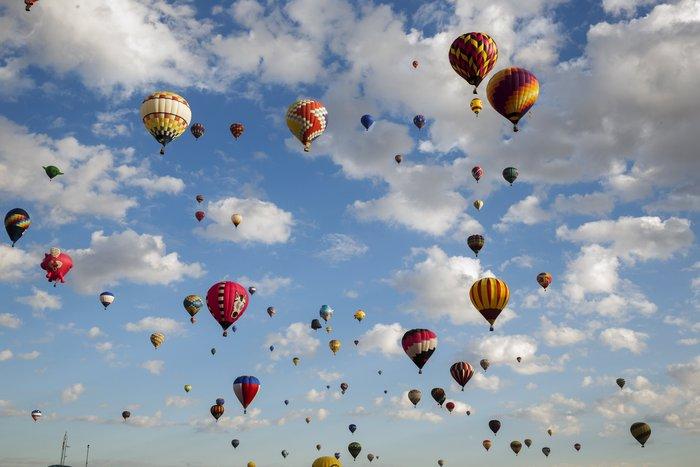 Γιορτή από πρωτότυπα αερόστατα στις ΗΠΑ. Απλά υπέροχη! - εικόνα 6