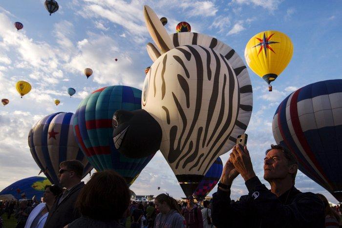 Γιορτή από πρωτότυπα αερόστατα στις ΗΠΑ. Απλά υπέροχη! - εικόνα 7