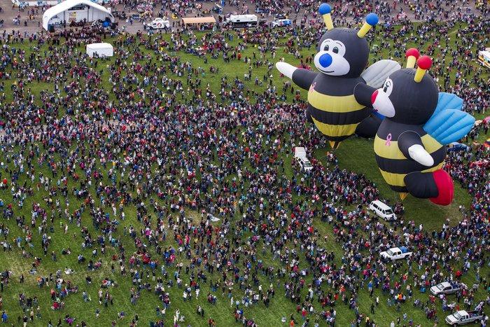 Γιορτή από πρωτότυπα αερόστατα στις ΗΠΑ. Απλά υπέροχη! - εικόνα 11