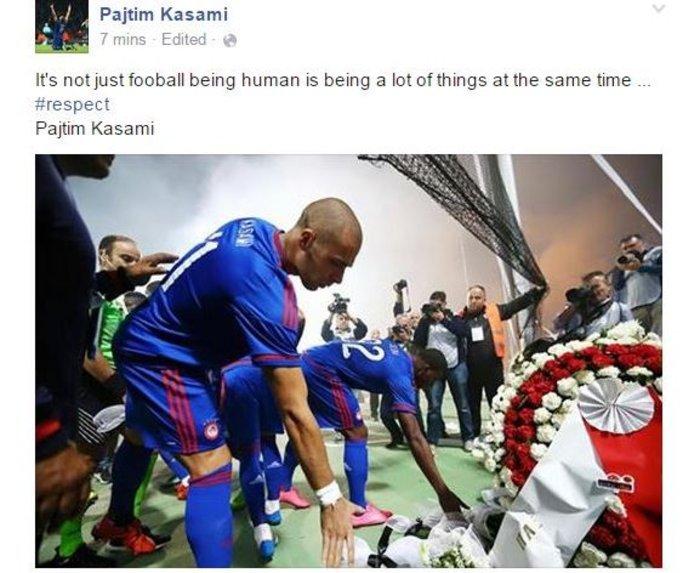 Ο Κασάμι γράφει για τους νεκρούς οπαδούς του ΠΑΟΚ