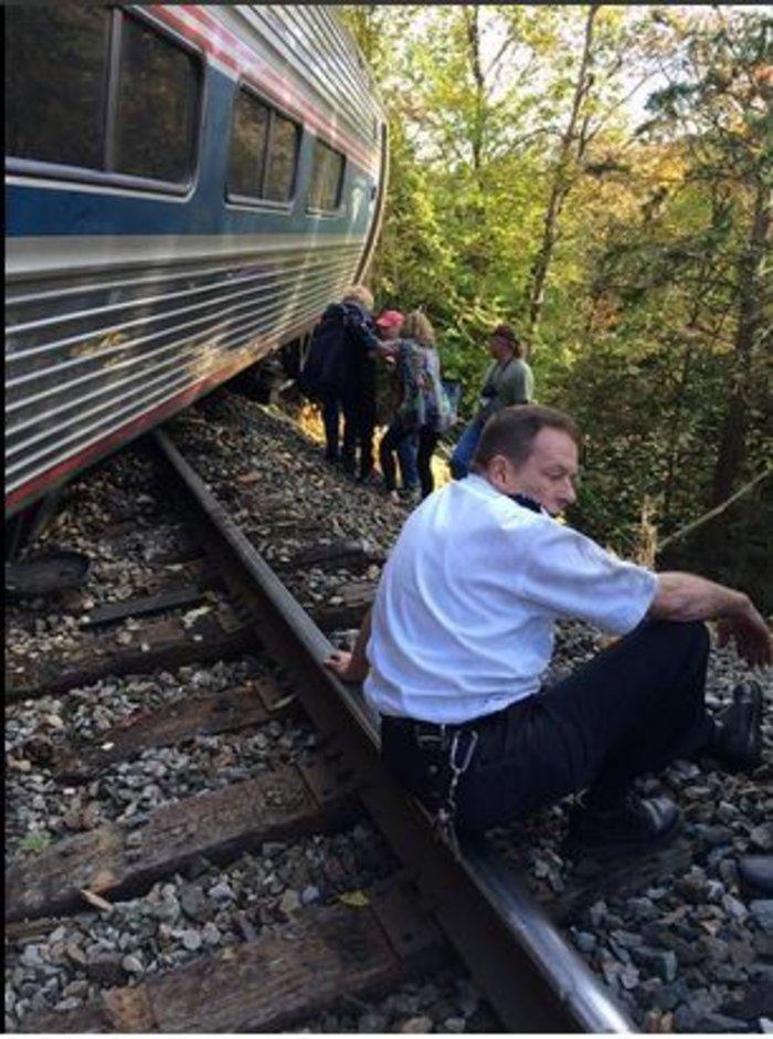 Εκτροχιασμός τρένου στην πολιτεία Βέρμοντ των ΗΠΑ