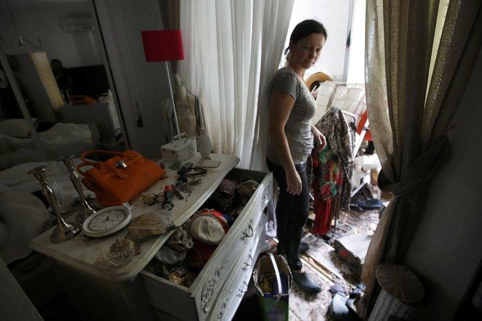 Εικόνες καταστροφής στη Γαλλική Ριβιέρα μετά από τις πλημμύρες - εικόνα 5