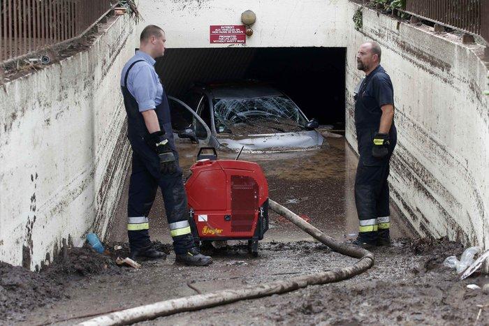 Εικόνες καταστροφής στη Γαλλική Ριβιέρα μετά από τις πλημμύρες - εικόνα 6