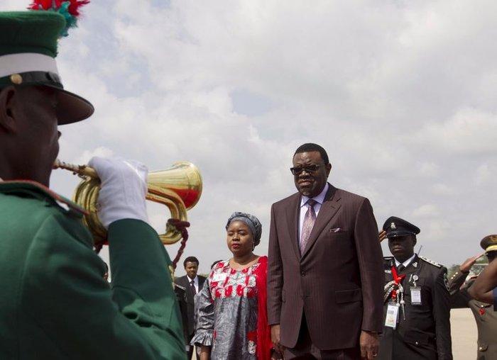 Χάγκε Γκέινγκομπ, πρόεδρος της Ναμίμπια