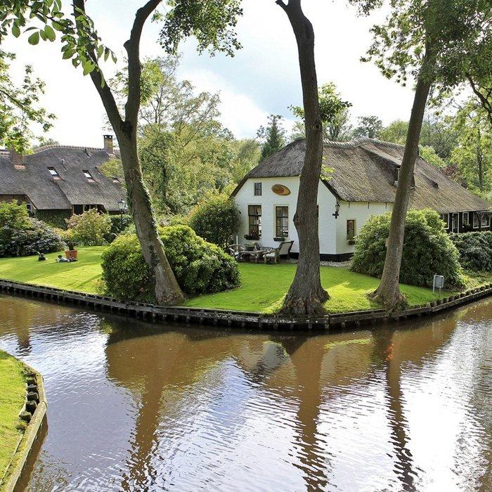 Μαγικό χωριό χωρίς δρόμους στην Ολλανδία μοιάζει βγαλμένο από παραμύθι - εικόνα 5