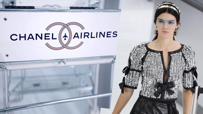 Chanel:Αριστουργηματικό αεροδρόμιο στα πόδια της Τζένερ.Μαγικές εικόνες - εικόνα 15