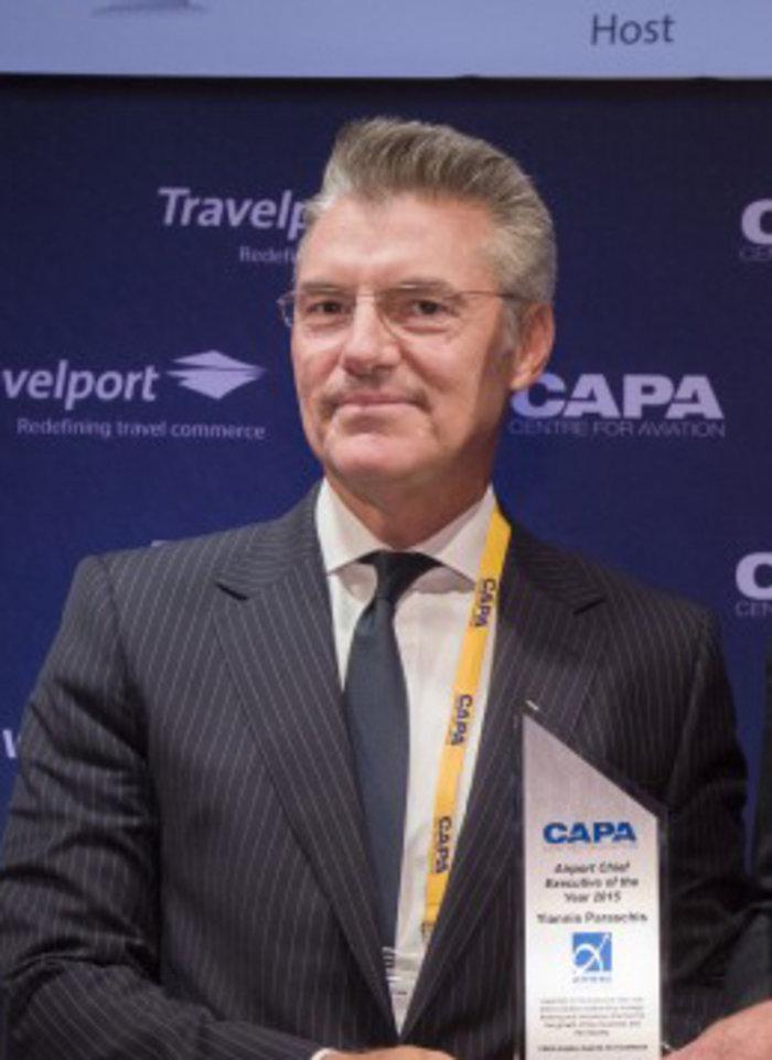 Διεθνές βραβείο στον CEO του «Ελ. Βενιζέλος» Γιάννη Παράσχη