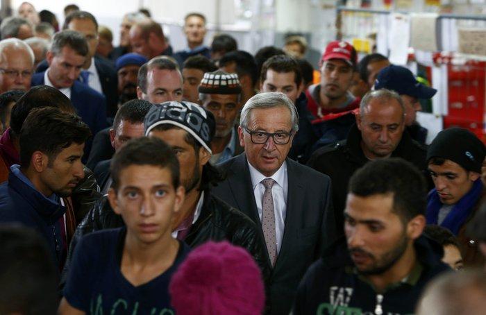 Γιούνκερ: Η προσφυγική κρίση θα διαρκέσει κάποια χρόνια