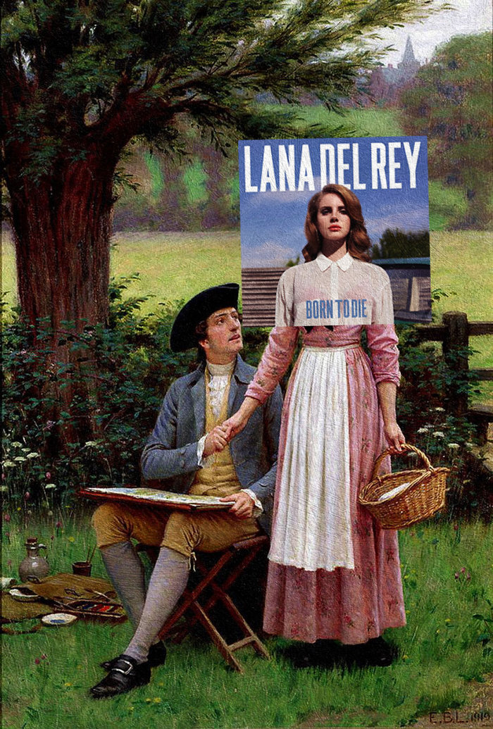 Born to Die by Lana Del Rey & The Lord of Burleigh by Edmund Blair Leighton