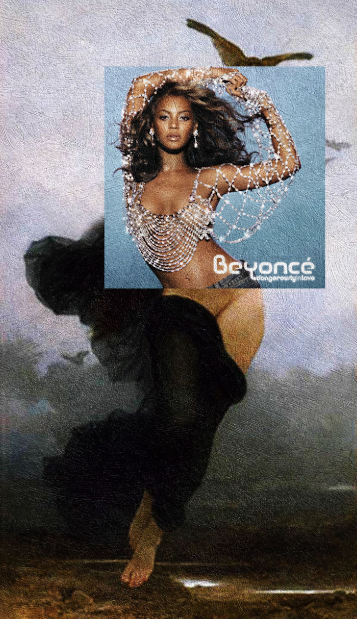 Dangerously in Love by Beyoncé & La Nuit by William-Adolphe Bouguereau