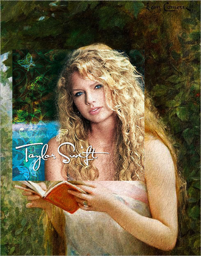 Taylor Swift by Taylor Swift & La Belle Liseuse by Léon François Comerre