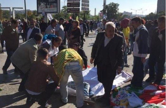 Μακελειό από έκρηξη στην Τουρκία, 95 νεκροί, 48 χαροπαλεύουν