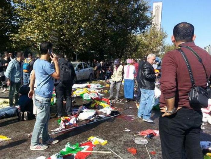 Μακελειό από έκρηξη στην Τουρκία, 95 νεκροί, 48 χαροπαλεύουν - εικόνα 9