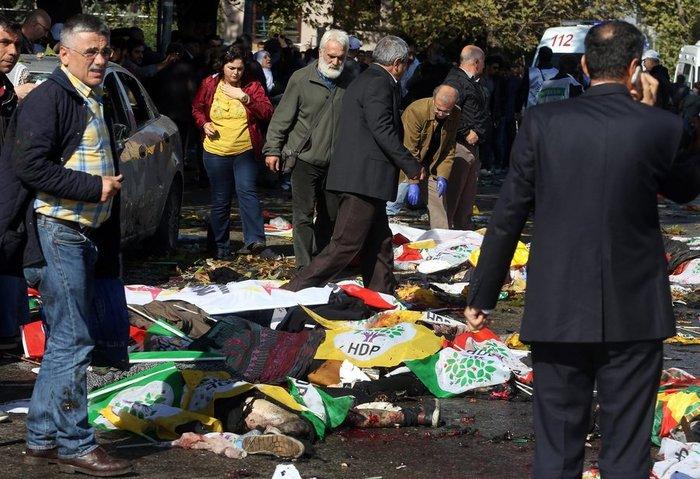 Μακελειό από έκρηξη στην Τουρκία, 95 νεκροί, 48 χαροπαλεύουν - εικόνα 2
