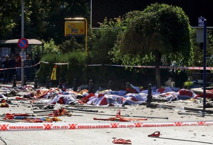 Βαρύ πένθος στην Τουρκία, 95 οι νεκροί - 48 χαροπαλεύουν - εικόνα 2