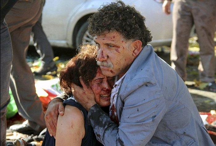 Βαρύ πένθος στην Τουρκία, 95 οι νεκροί - 48 χαροπαλεύουν - εικόνα 8