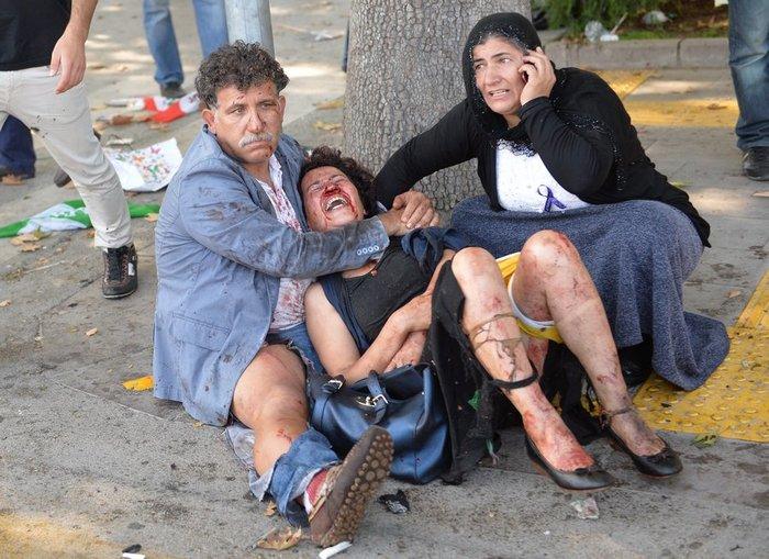 Βαρύ πένθος στην Τουρκία, 95 οι νεκροί - 48 χαροπαλεύουν - εικόνα 10