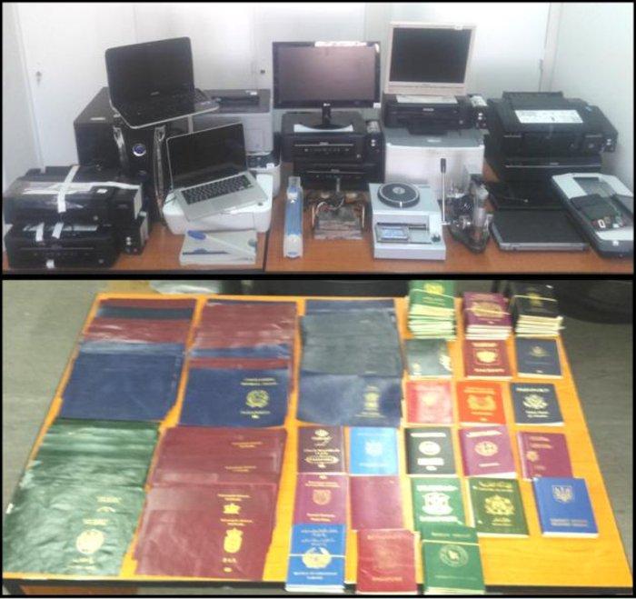 Κύκλωμα με hi-tech πλαστά διαβατήρια δουλεμπόρων