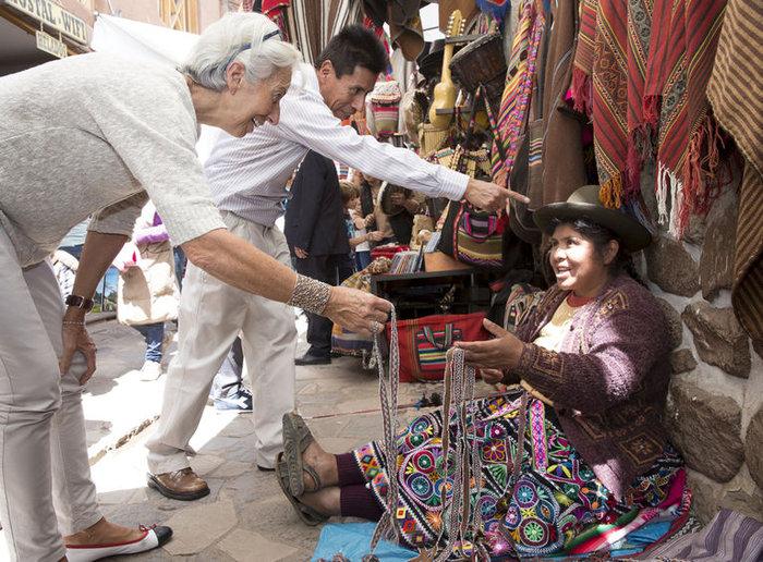 Δείτε τον «διαβολεμένο χορό» της Λαγκάρντ στο Περού - εικόνα 3