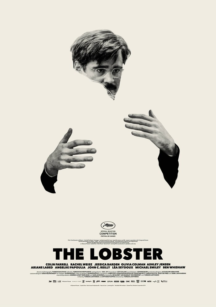 Στις κινηματογραφικές αίθουσες του Λονδίνου κυριαρχούν οι αφίσες του The Lobster